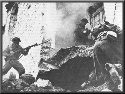 battle of ortona Battle of ortona aka battle in ortona (1944): dec 20 1943 to dec 28 1943 battle of ortona the canadians faced elements of the renowned german 1st parachute division.