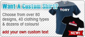 Create Your own custom Canadian T-Shirt