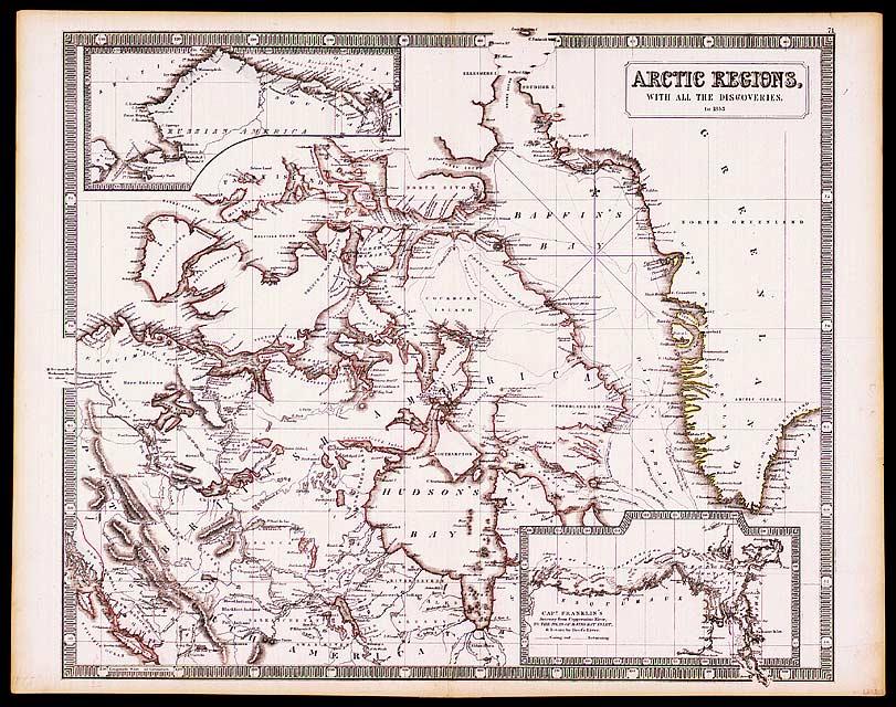 Canadian Arctic 1853 1800s Maps CKA