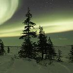 Northern lights over Churchill
