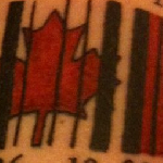 A real made in Canada tattoo :P