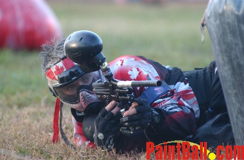Canadian at World cup of Paintball