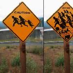Border Road Signs