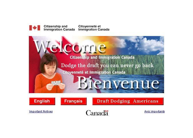Canadian immigration canada related humour cka