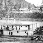 The Sternwheeler Lillooet at Yale