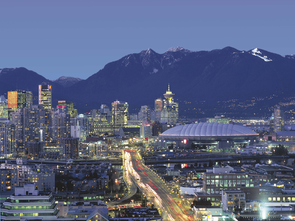 Vancouver Skyline at night...