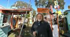 Florida man's tiny town features drive-in, barbershop, motel and more