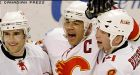 Flames' Iginla beats Sharks in OT
