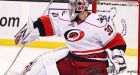 Ward solid as Hurricanes blank Bruins
