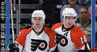Carter scores two quick goals in Flyers win