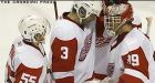 Hasek leads Red Wings past Ducks