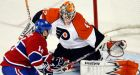 Flyers stymie Canadiens to tie series