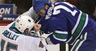 Canucks knock down Sharks for fifth straight win