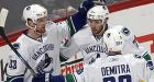 Canucks narrow Flames' Northwest lead