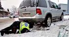 Girl, 3, pried from underneath SUV
