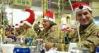 Gifts from home raise soldiers' spirits