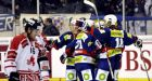 German team trips Canada at Spengler Cup