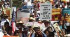 Protesters march against Arizona immigration law
