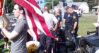 Man fires pepper spray on protesters outside Marine's funeral