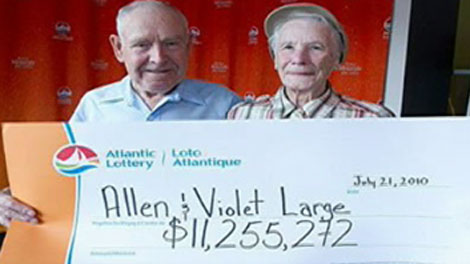 N.S. couple gives away $11M in lottery winnings