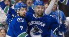Luongo, Canucks blank Predators for Game 1 win