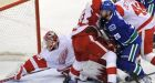 Canucks double up Detroit in physical game