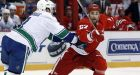 Burrows's SO goal halts Red Wings' home win streak