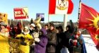 Aboriginal protest closes Trans-Canada Highway in northern Ontario