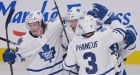 Leafs beat Canadiens 2-1 in season opener