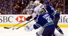 Cory Schneider pulled as Ducks hammer Canucks