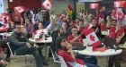 Olympic hockey fans prep for early morning gold medal game
