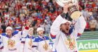Ovechkin, Malkin lead Russia to 5-2 win in ice hockey worlds final