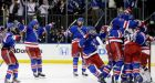 Rangers eliminate Canadiens