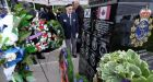 Korean War monument unveiled in Burlington, Ont., to honour eight navy ships