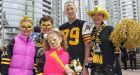 Hamilton Tiger-Cats send team to Grey Cup in style