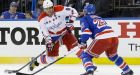 Capitals, Joel Ward steal late victory from Rangers