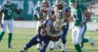 Blue Bombers upset Roughriders; Durant injured