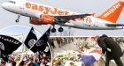 Arabic graffiti daubed on easyJet planes in France after Paris attacks