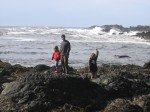 Me and the Kids at Ucluelet, BC