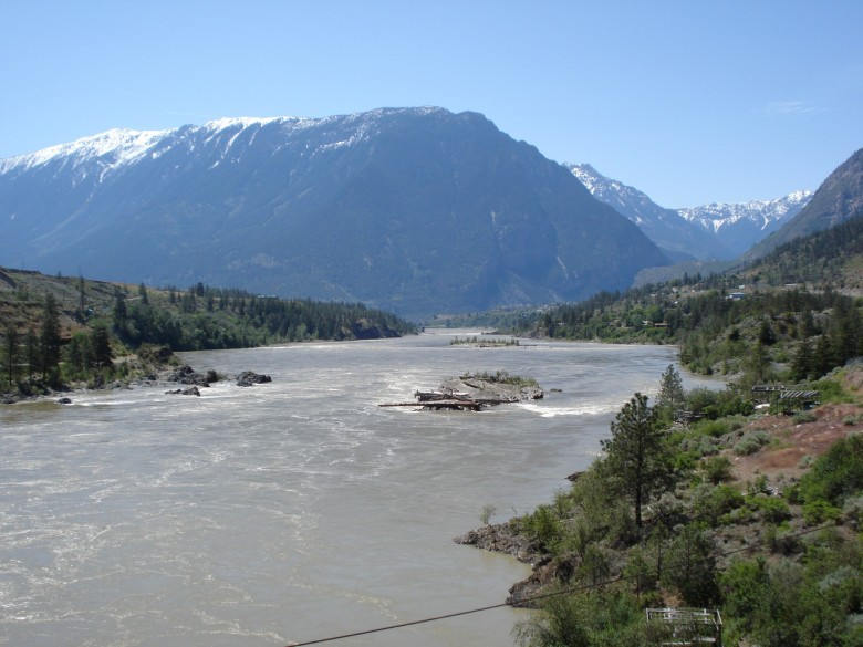 Click to view full size image  ==============  Downstream towards Lillooet