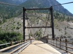 The old bridge at Lillooet
