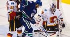 Vancouver Canucks take 3-0 exhibition victory over Calgary Flames