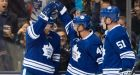 Leafs tie record for fewest shots allowed in 4-0 rout of Sabres